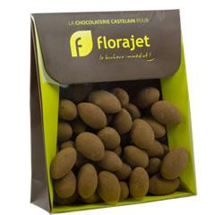 Amandes cacaotées 150gr