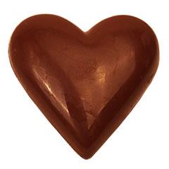 Coeur chocolaté 75gr