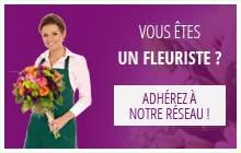 Vous êtes fleuriste, adhérez à notre réseau