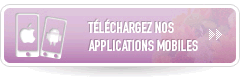 T�l�chargez nos applications mobiles