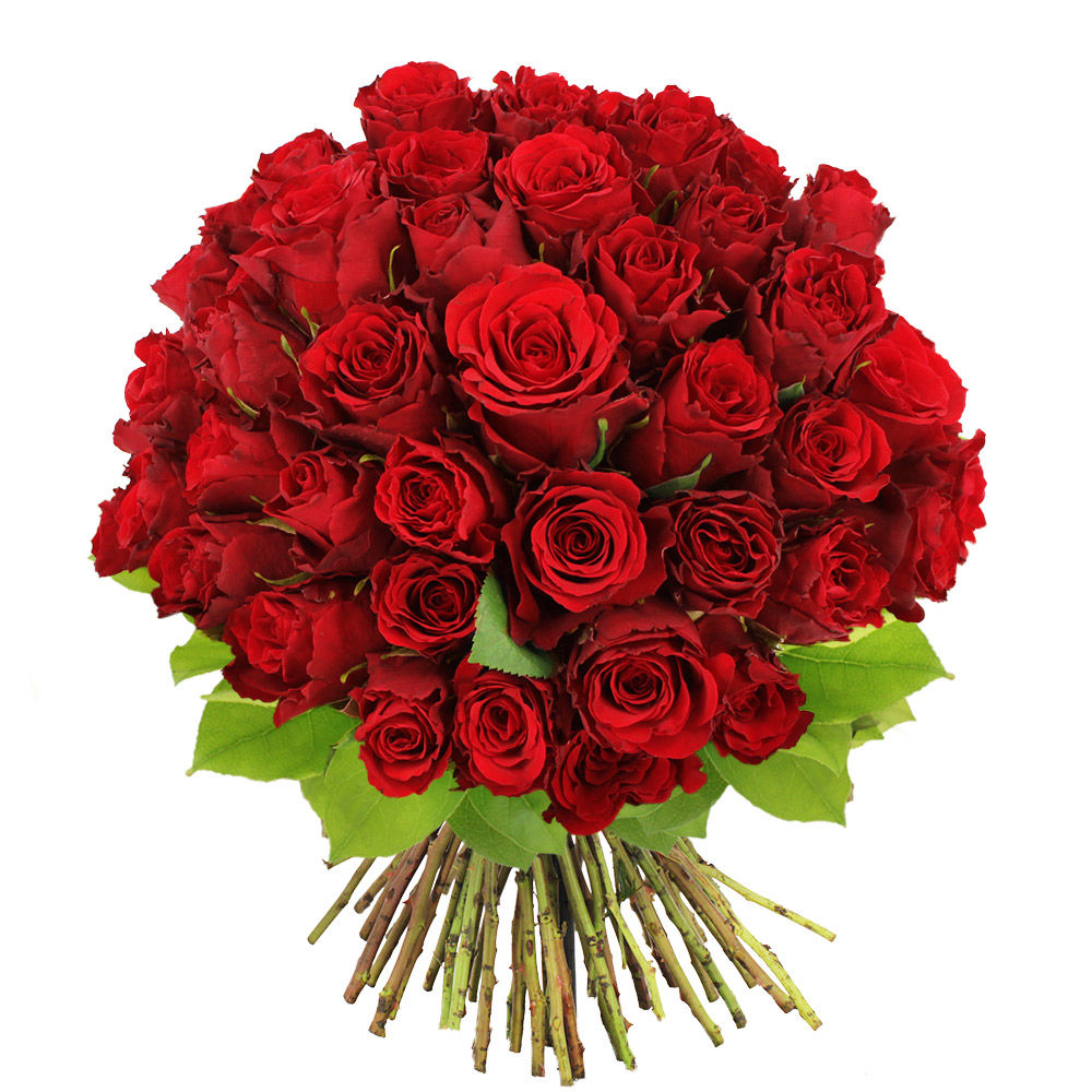 Bouquet de 60 roses rouges livraison en express florajet for Bouquet de rose