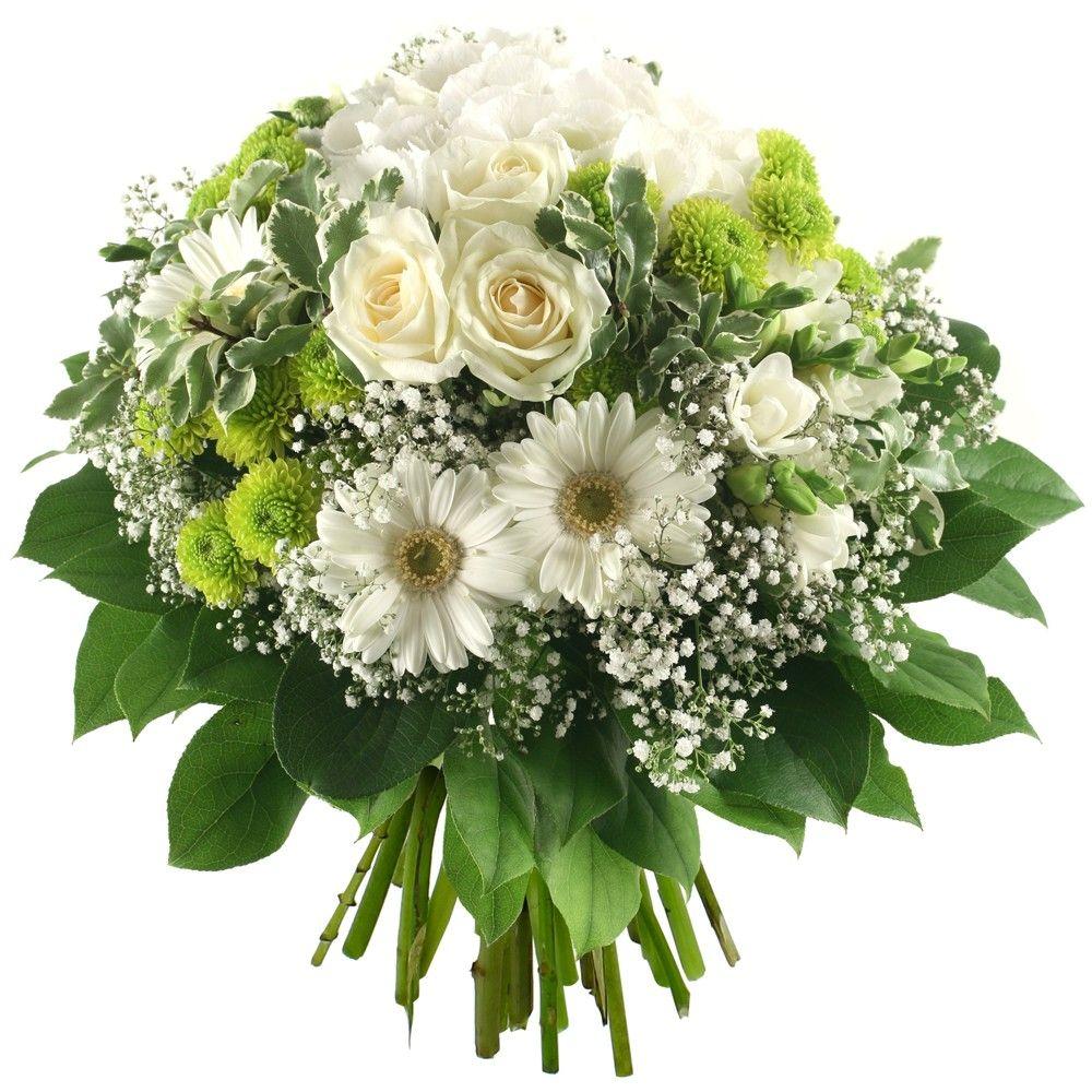 livraison bouquet de fleurs blanches mystique florajet. Black Bedroom Furniture Sets. Home Design Ideas