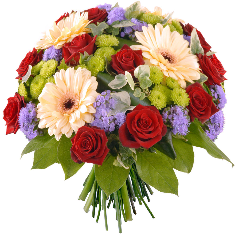 Livraison en express bouquet de fleurs macaron florajet for Fleurs express