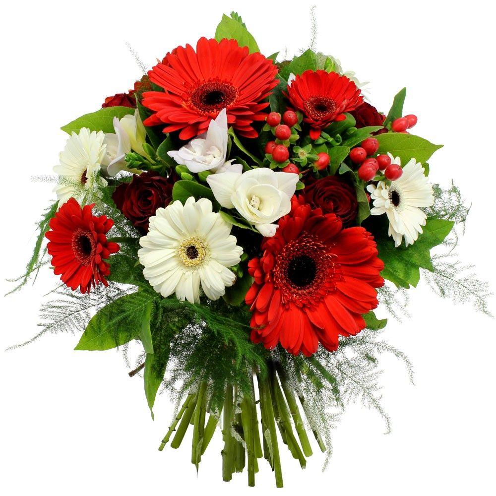 Souvent Bouquet de Fleurs Rouge et Blanc: PURETE ECARLATE | Florajet UJ27