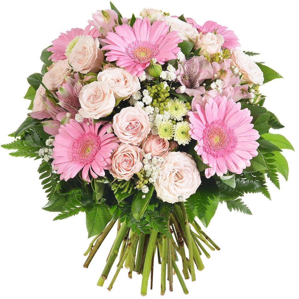 Livraison express bouquet de fleurs roses prelude florajet for Bouquet livraison