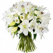 Bouquets de fleurs cristal