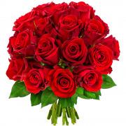 Bouquets de fleurs 20 roses rouges