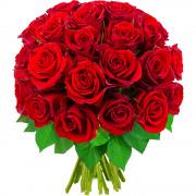 Bouquets de fleurs 30 roses rouges