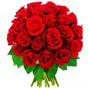 Bouquets de fleurs 40 roses rouges
