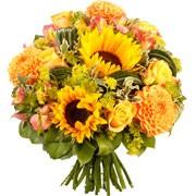 Bouquets de fleurs cigale