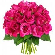 Bouquets de fleurs 30 roses fuchsias