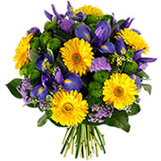 Bouquets de fleurs clair de lune