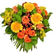 Bouquets de fleurs chant d'automne