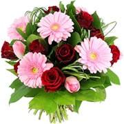 Bouquets de fleurs alizarine