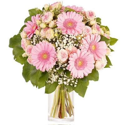 """Livraison du bouquet de fleurs Remerciements : """"DESSIN"""" par Florajet."""