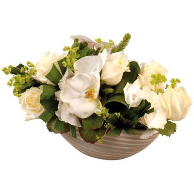 Livraison de la composition florale naissance navette for Livraison composition florale