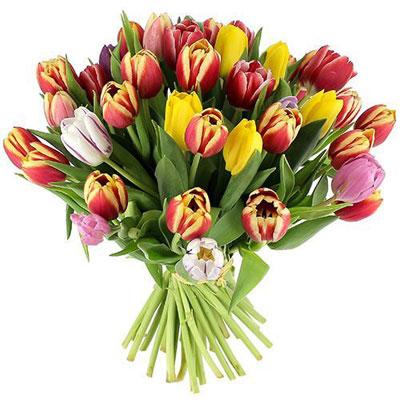 livraison de fleurs 60 tulipes eau lavande 200ml livraison france express. Black Bedroom Furniture Sets. Home Design Ideas