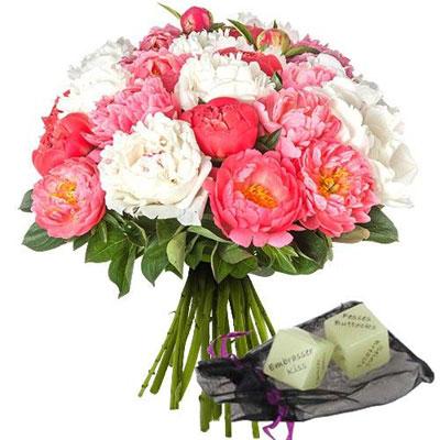 livraison de fleurs 20 pivoines des sexy livraison france express. Black Bedroom Furniture Sets. Home Design Ideas