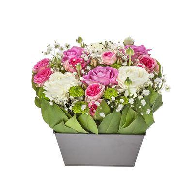 Livraison de la composition florale anniversaire risette par florajet - Composition florale anniversaire ...