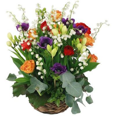 Livraison de la composition florale annabelle par florajet for Livraison composition florale