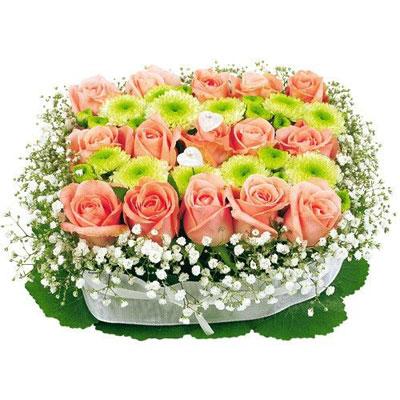carre tendresse - Florajet Mariage