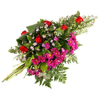 Livraison de gerbe deuil gerbe main par florajet for Livraison plantes paris