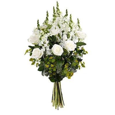 bouquet de fleurs longue tige