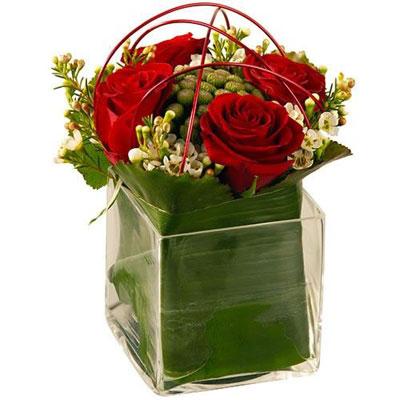 Livraison de la composition florale amour coronado par for Livraison composition florale