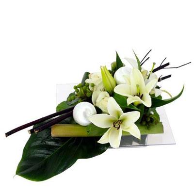Livraison de la composition florale nouvel an par florajet for Livraison composition florale
