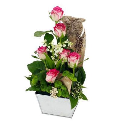 livraison de la composition florale porte bonheur par florajet. Black Bedroom Furniture Sets. Home Design Ideas