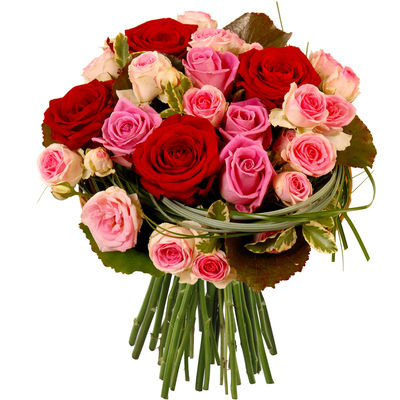livraison du bouquet de roses amour eden rose par florajet. Black Bedroom Furniture Sets. Home Design Ideas