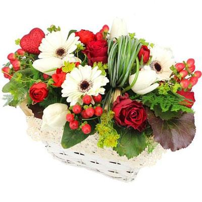 Livraison de la composition florale mariage eclat par for Livraison composition florale