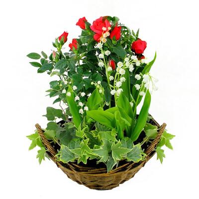 Livraison de la composition florale premier mai par for Livraison composition florale