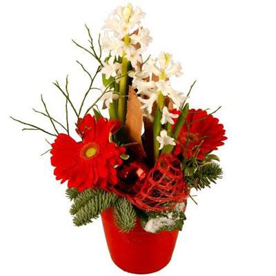 Livraison de la composition florale veillee par florajet for Livraison composition florale
