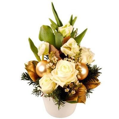 Livraison de la composition florale cantique par florajet for Livraison composition florale
