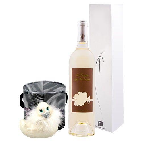 livraison de fleurs coffret vin blanc canard livraison france express. Black Bedroom Furniture Sets. Home Design Ideas