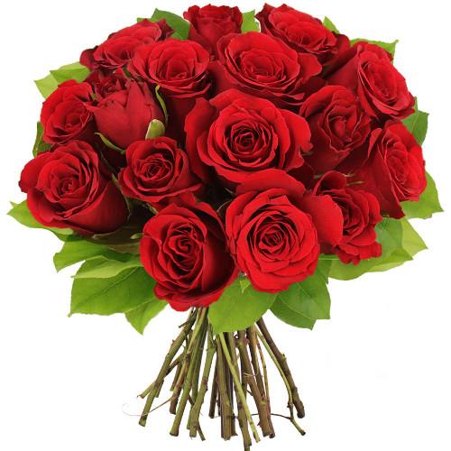 Bouquet de 15 roses rouges livraison en express florajet for Rose livraison
