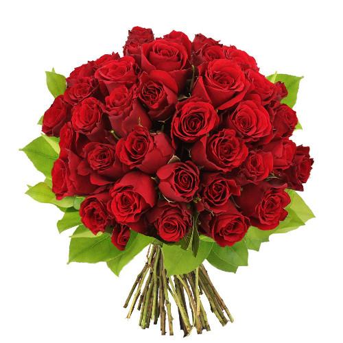 Bouquet de roses 40 ROSES ROUGES
