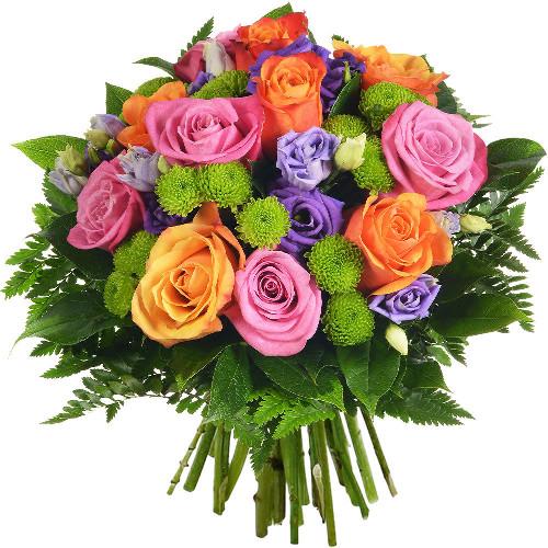 """Livraison du bouquet de fleurs Anniversaire : """"SUMATRA"""" par Florajet."""