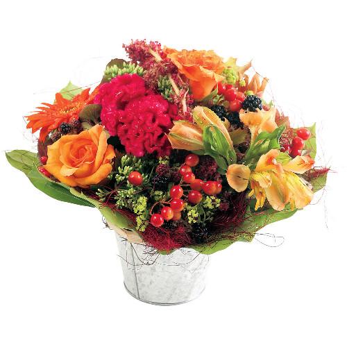 Livraison de la composition florale ambre par florajet for Livraison composition florale