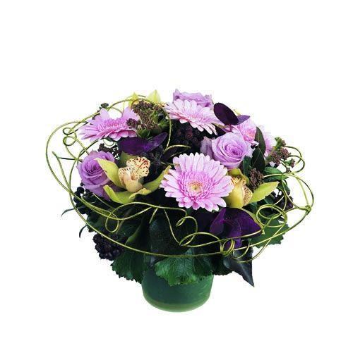 Livraison de la composition florale merveille par florajet for Livraison composition florale