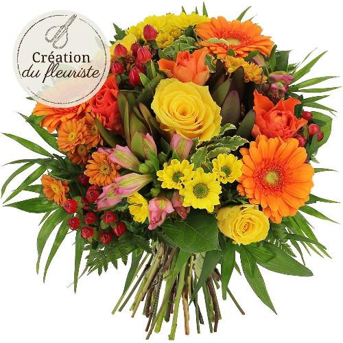 Livraison de fleurs creation du fleuriste multicolore for Livraison de fleurs demain