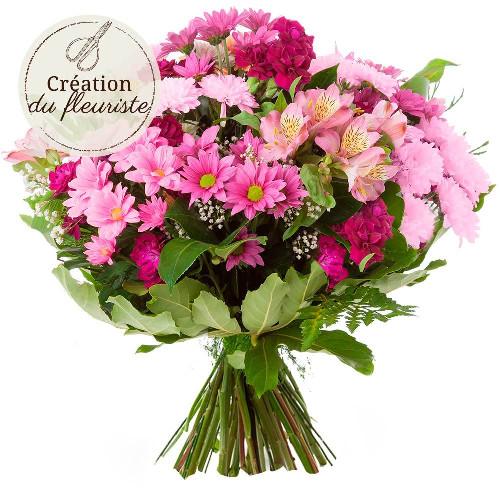 Livraison de fleurs creation du fleuriste rose for Livraison de fleurs demain