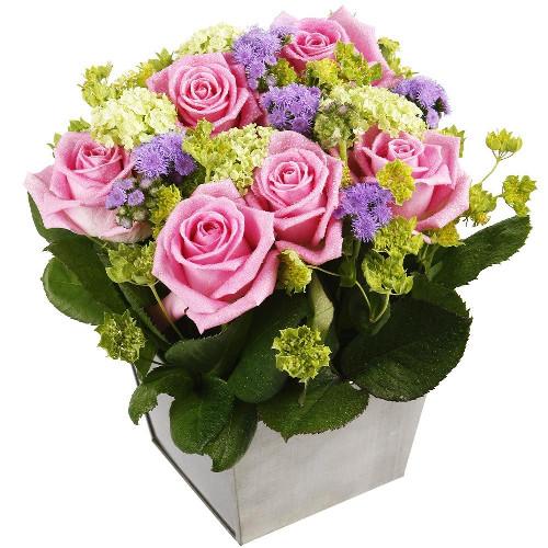 Livraison de la composition florale anniversaire ukabou for Livraison composition florale