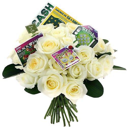 Livraison de cadeau insolite bouquet chance par for Bouquet cadeau