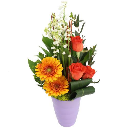 Livraison de la composition florale envol par florajet for Livraison composition florale