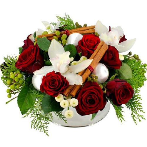 Livraison de la composition florale composition en fete for Livraison composition florale