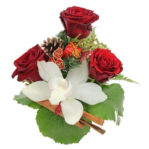Livraison de la composition florale clochette par florajet for Livraison composition florale