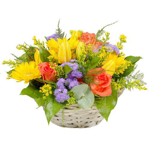 Livraison de la composition florale anniversaire jardin for Livraison composition florale