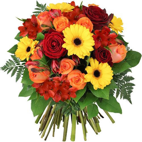 Bouquet rond COCCINELLE